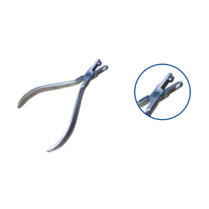 GrinA+ 36004 Punch Plier Used on Clear Aligner